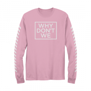 Why Don't We Why Don't We Long Sleeve (Pink)