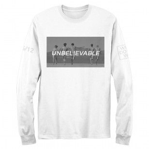 Unbelievable (White) Longsleeve