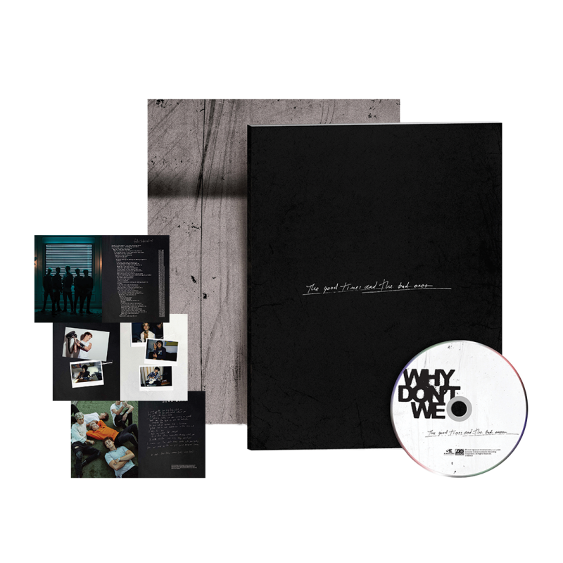The Good Times And The Bad Ones Zine Collectible CD