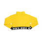 Crop Top Hoodie Yellow