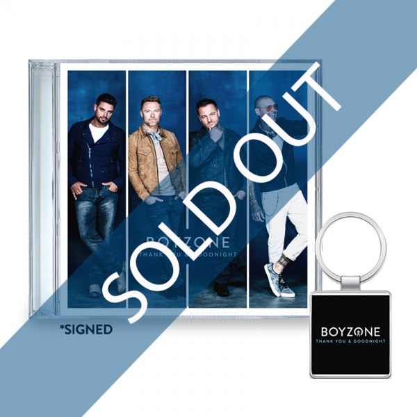 Thank You & Goodnight CD (SIGNED) + Key Ring