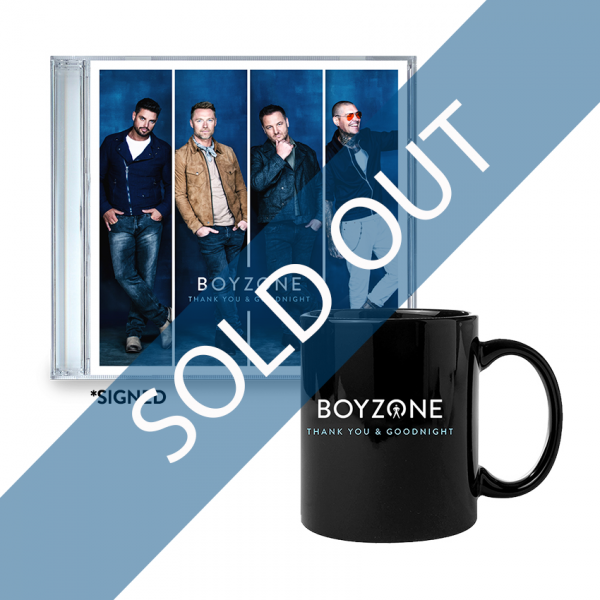 Thank You & Goodnight CD (SIGNED) + Mug