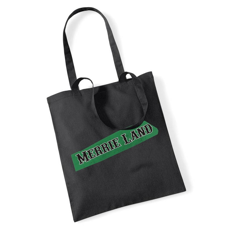 TGTBTQ Black Tote Bag Front