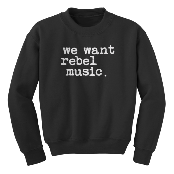 Rebel Music Sweater