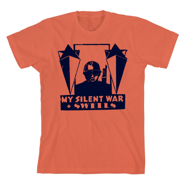 Silent War Orange T-shirt
