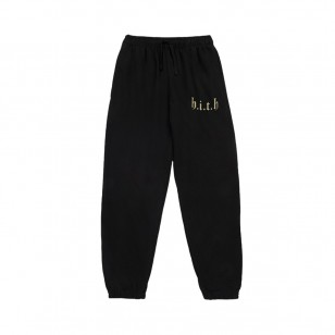 Gold HITH Tracksuit Bottoms Black