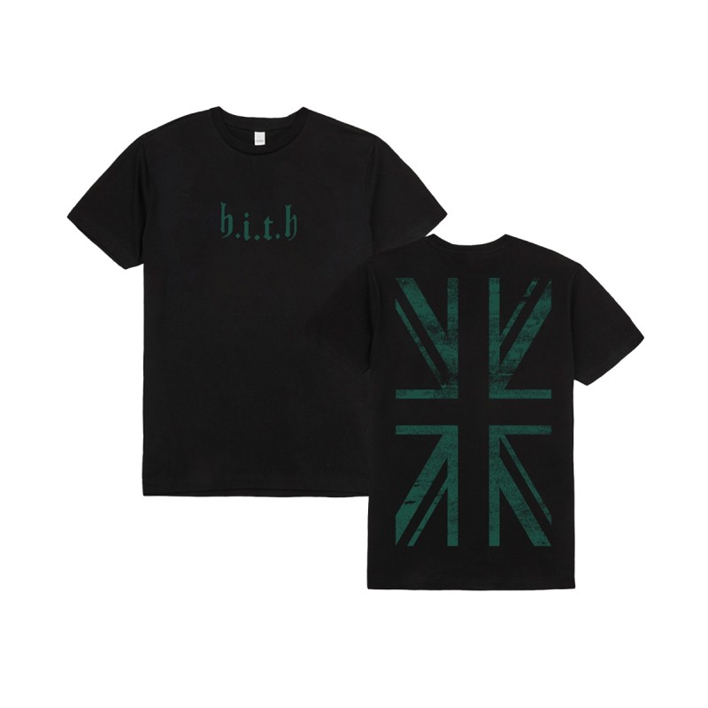 Green Flag HITH T-Shirt Black