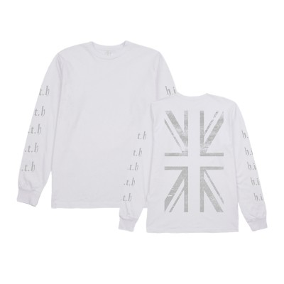 Repeat HITH Long Sleeve T-Shirt White