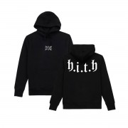 HITH Flag Embroidered Hood Black
