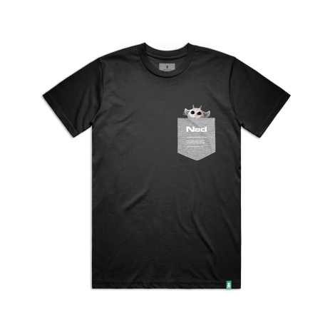 Pocket T-Shirt Black