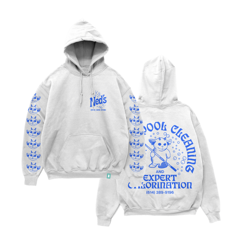 Pool Cleaner Holiday Hoodie