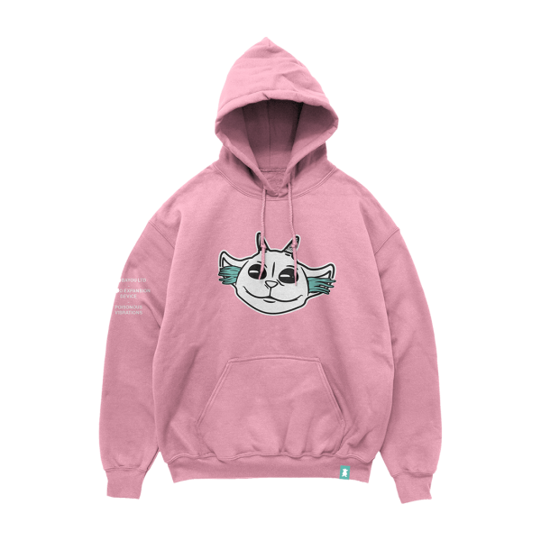 Ned Head Pink Holiday Hoodie