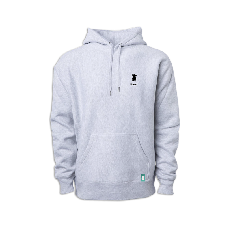 Icon Pullover Hoodie Gray