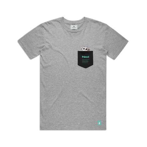 Pocket T-Shirt Gray