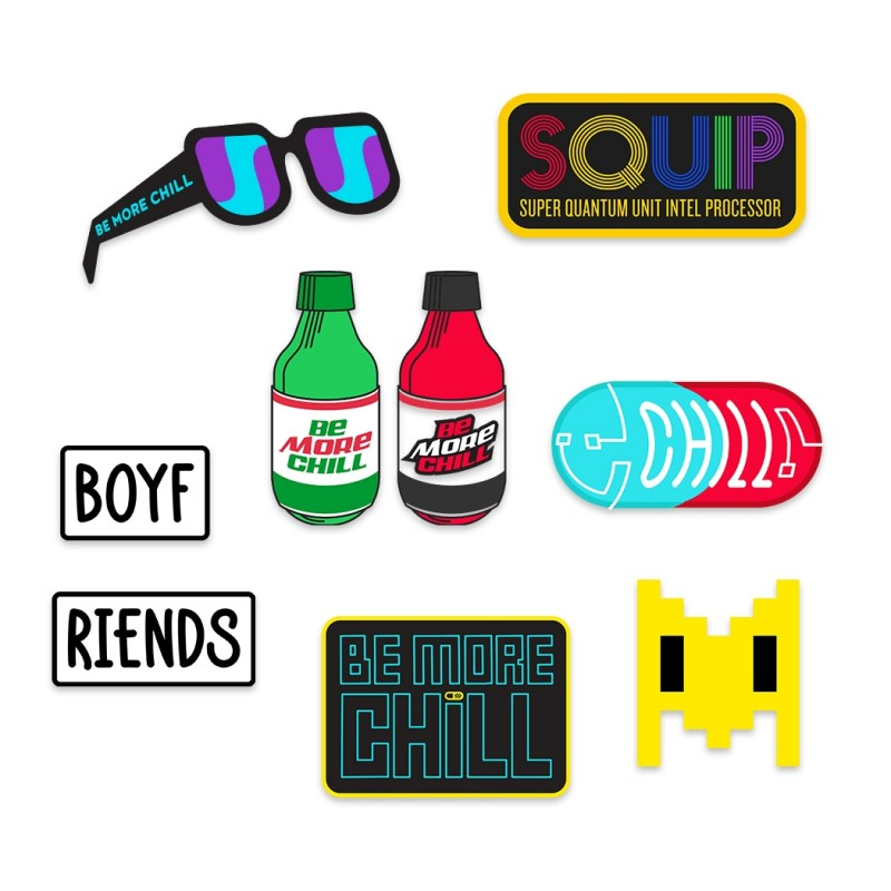 Be More Chill Sticker Pack