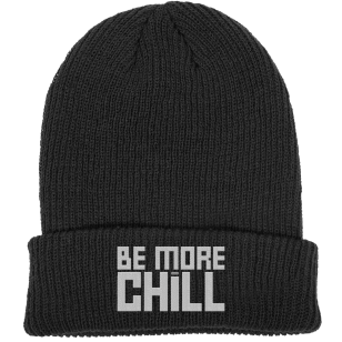 Be More Chill Logo Beanie