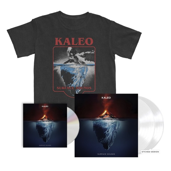 Surface Sounds T-Shirt + CD and LP