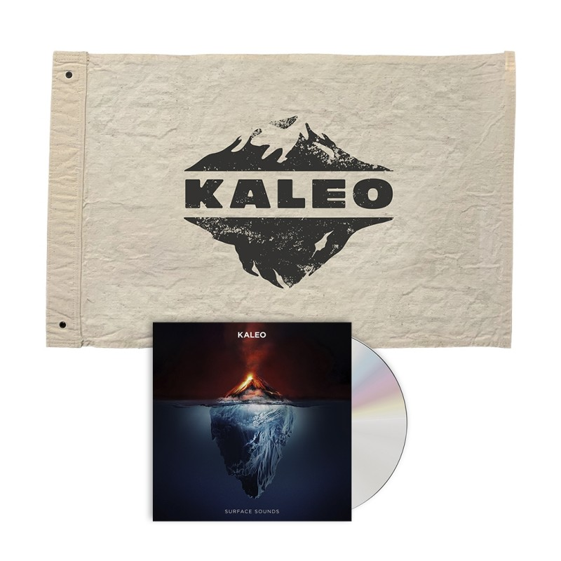 KALEO Flag + CD