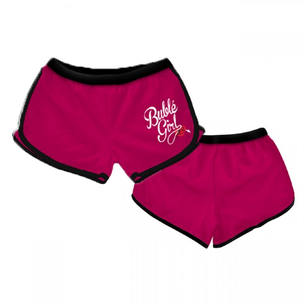 Hot Pink Buble Girl Hot Pants