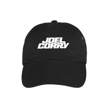 Embroidered Block Logo Cap (S) Black (Default)