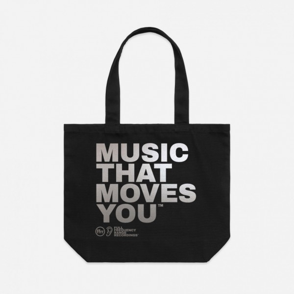 FFRR Music That Moves You Tote Bag