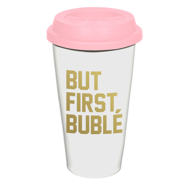 First Bublé Coffee Tumbler