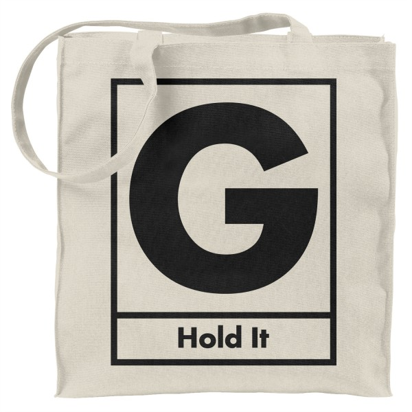 Hold It Canvas Tote Bag