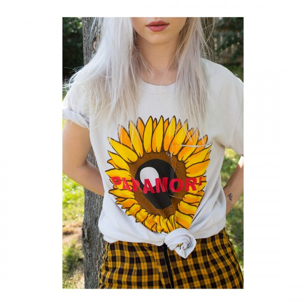 Paramore Sunflower T-Shirt (Limited Edition)