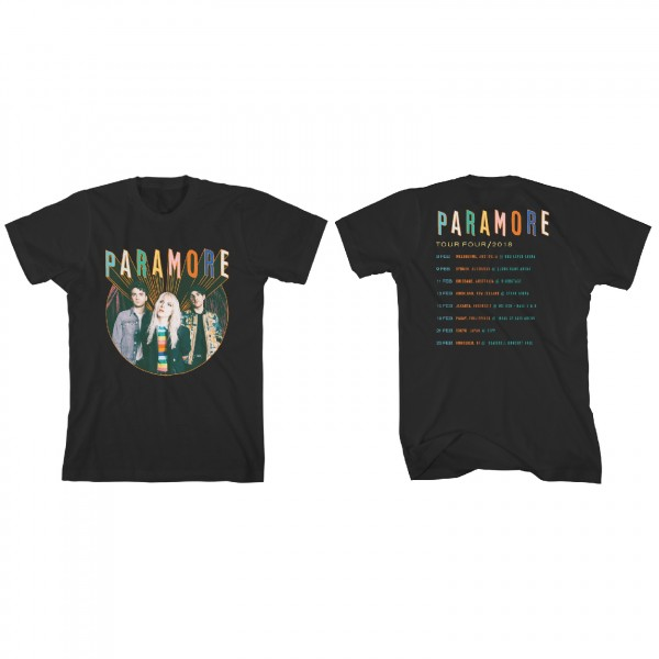 Paramore Colour Cave Tour T-Shirt