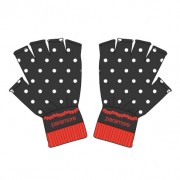 Paramore Polka Dot Fingerless Gloves