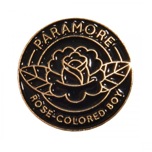 Rose-Colored Boy Enamel Pin