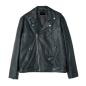 NJ Cross Leather Motorcycle Jacket