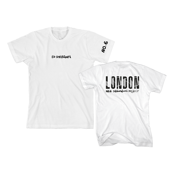 Pop Up No. 6 City (London) T-Shirt White