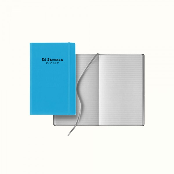 Ed Sheeran BLue Notebook