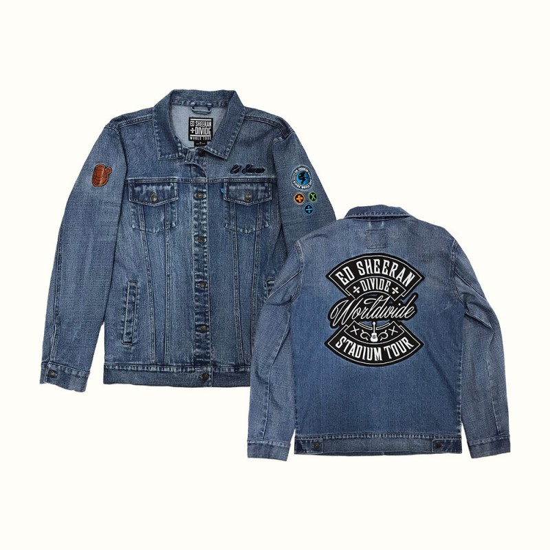 Denim Patch Jacket