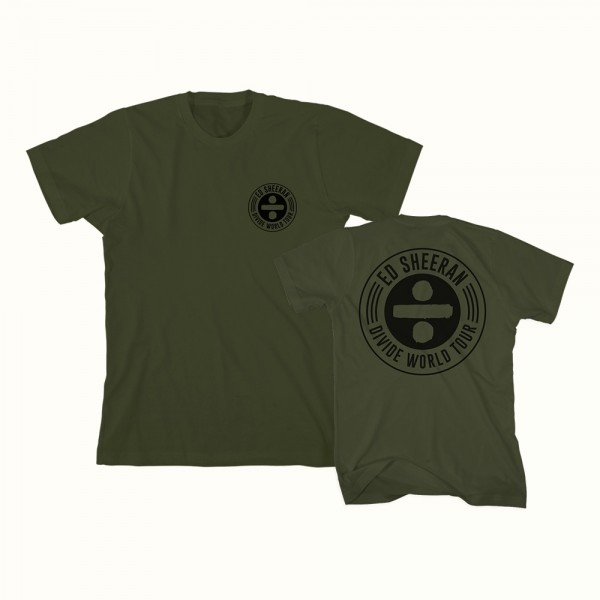 Olive Divide World Tour T-Shirt