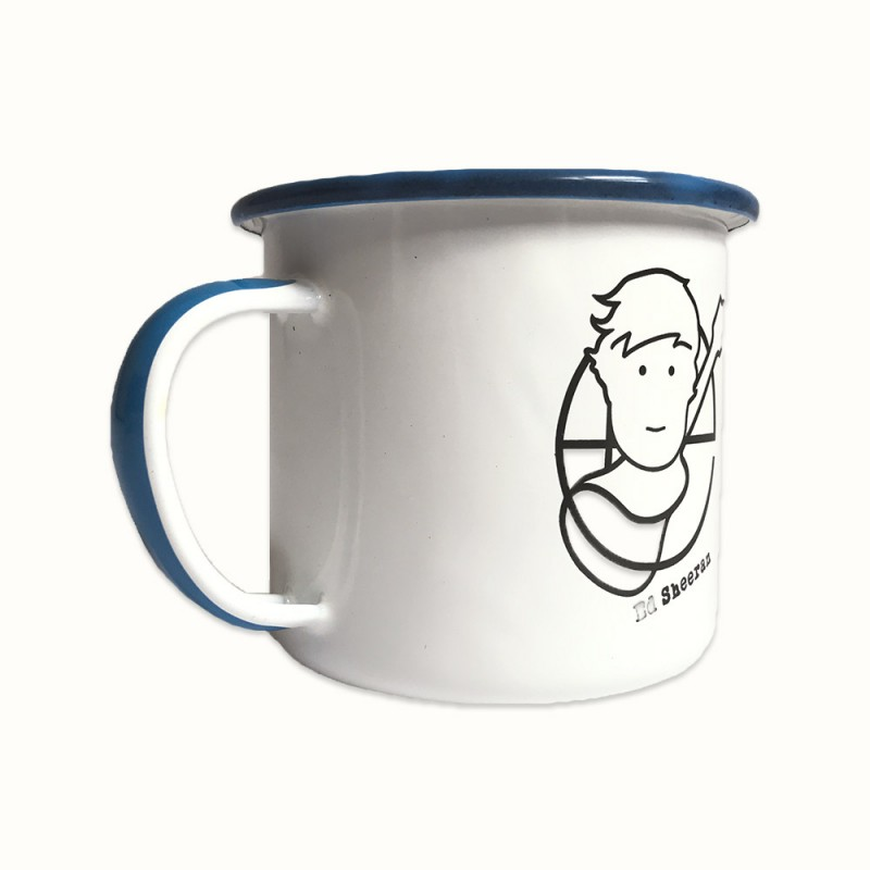 Pictogram Enamel Mug