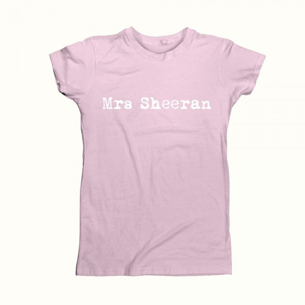 Mrs Sheeran Ladies T-Shirt