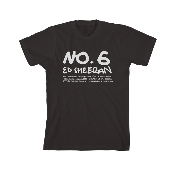 No.6 Collaborations Project Black T-Shirt