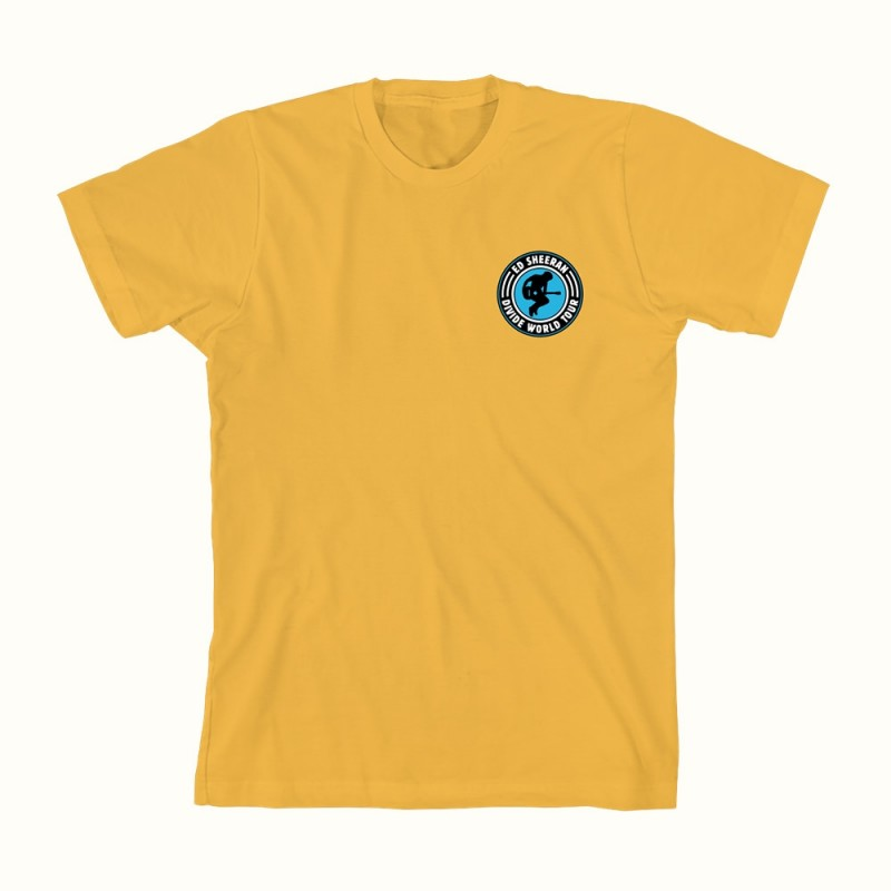 Pocket Jump Yellow T-Shirt