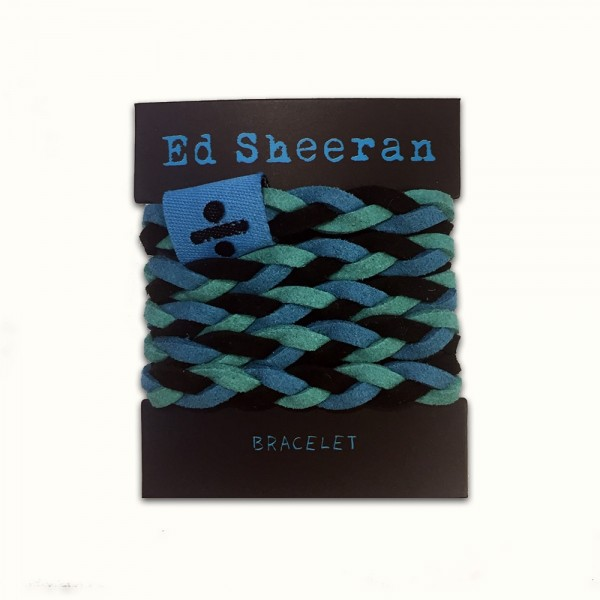 Ed Sheeran - Divide Platted Bracelet