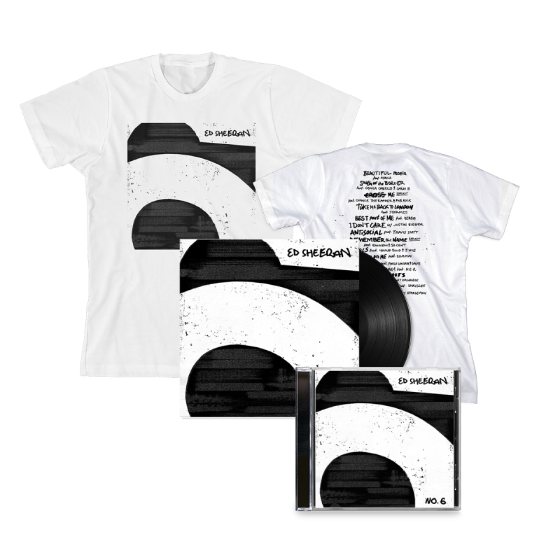 No.6 Collaborations Project CD + Vinyl + White T-Shirt