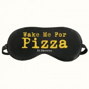 Wake me for pizza eye mask