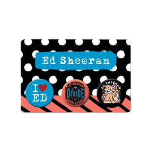 Divide Tour Button Badge Set