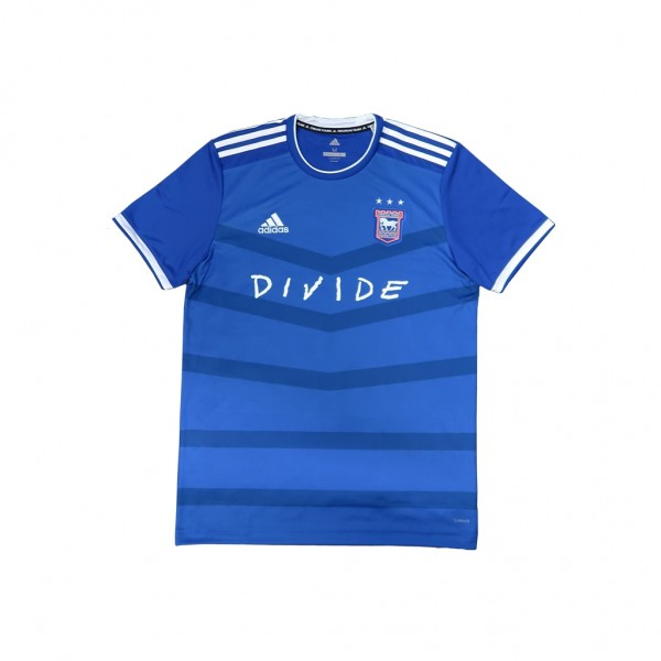 Ed Sheeran Divide Ipswich Town Juniors Football Shirt