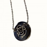 Ed Sheeran - Pictogram Pendant Necklace (detail)