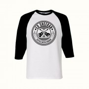 Crossed Guitar Baseball T-Shirt