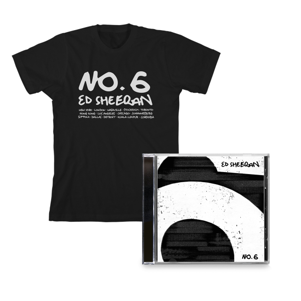 No.6 Collaborations Project CD + Black T-Shirt