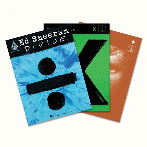 Ed Sheeran Store - Songbooks Bundle