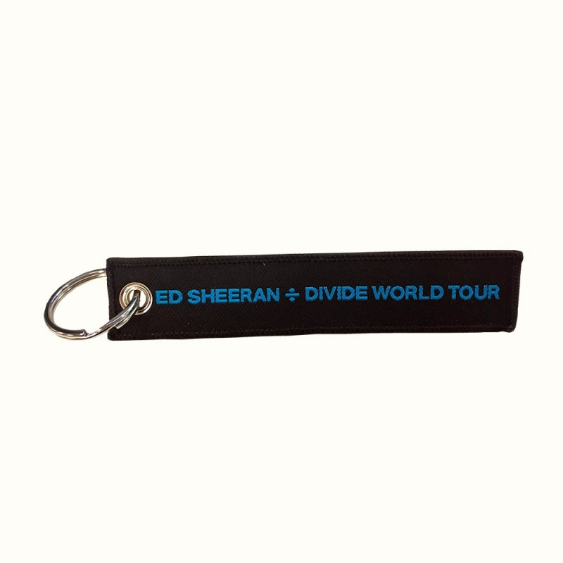 ÷ World Tour Key Ring